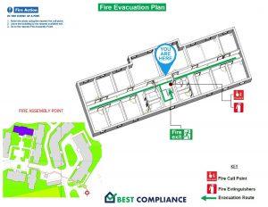 Example 3d Fire Evacuation
